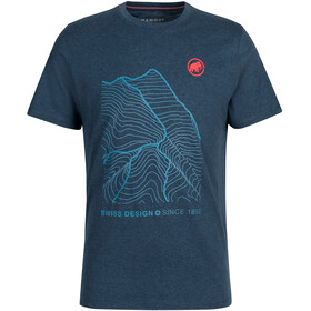 Mammut Sloper T-Shirt Men, marine melange